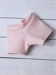 FLASH SALE Light pink jean stretch shorts leggings for BJD - Monstro Designs