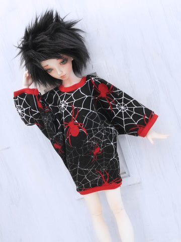 Spider web Bat sleeve dress for Minifee Ready to Ship - Monstro Designs