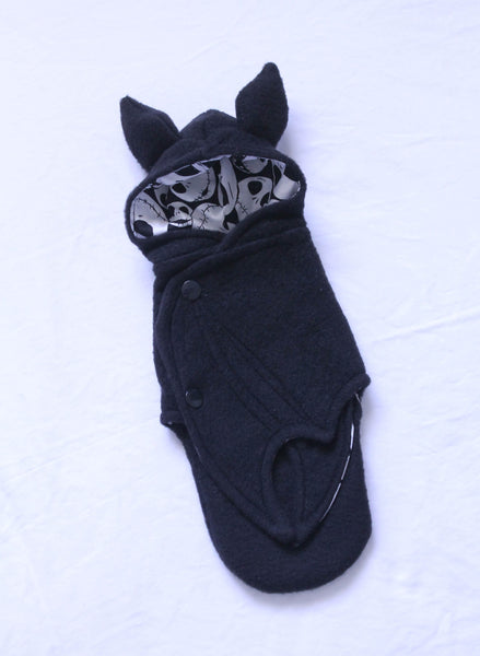 YOSD BJD black Jack Skellington bat wrap Ready to Ship - Monstro Designs