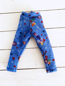 FLASH SALE blue fairy leggings for YOSD - Monstro Designs