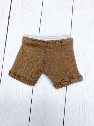 FLASH SALE Tan under wear for Minifee Male BJD MSD Ready to Ship
