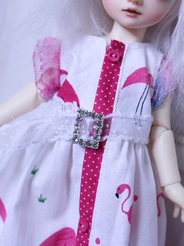 Rhinestone Square belt for MSD BJD dolls by MonstroDesigns READY to SHIP - Monstro Designs