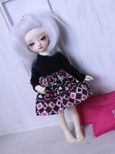 YOSD card deck alice skirt for BJD dolls READY to SHIP - Monstro Designs