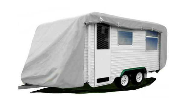 Budget Caravan Cover with Zip - Caravan Covers Direct