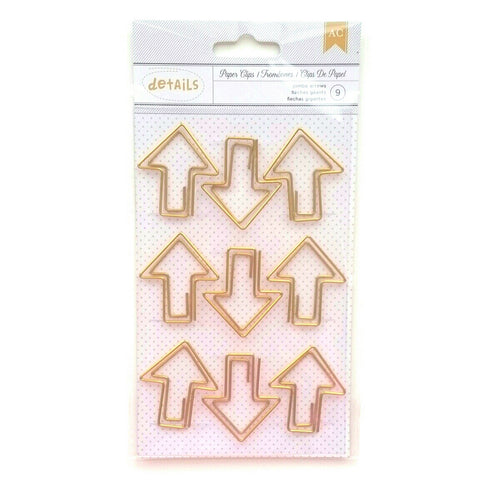 Gold Arrow Jumbo Paper Clips