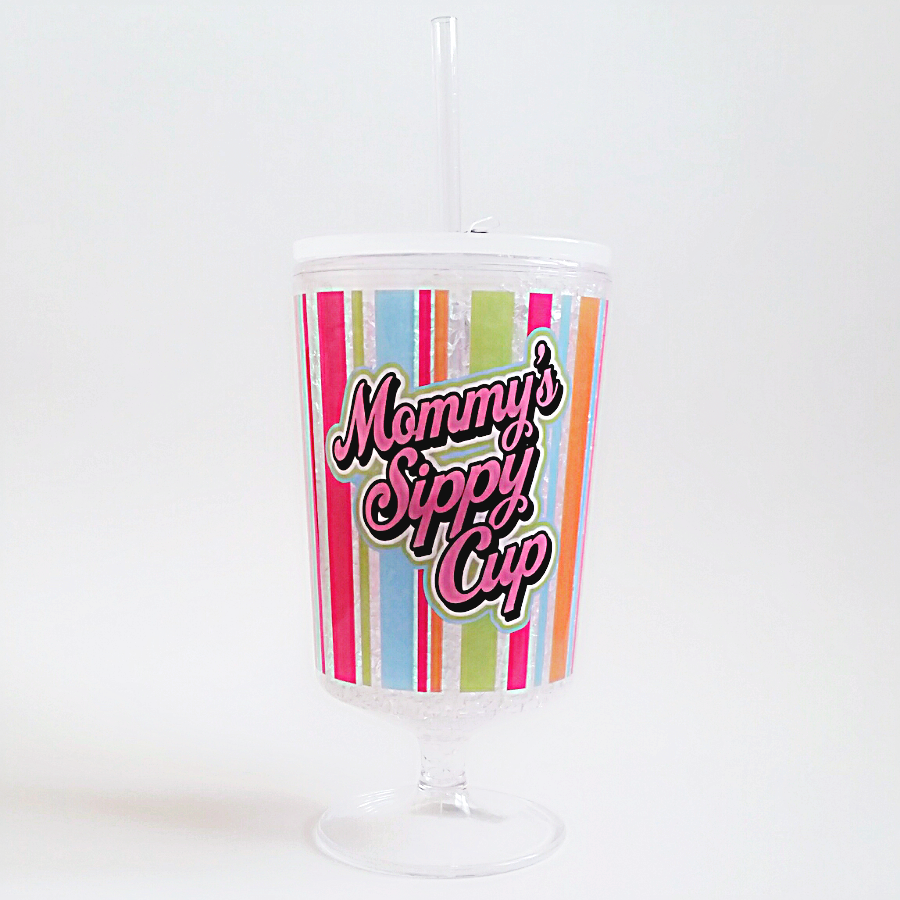 Mommy's Sippy Cup Frosty Goblet