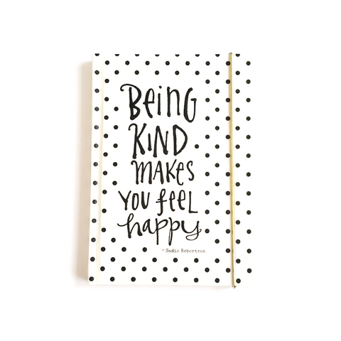 Being Kind Makes You Feel Happy Christian Journal Book