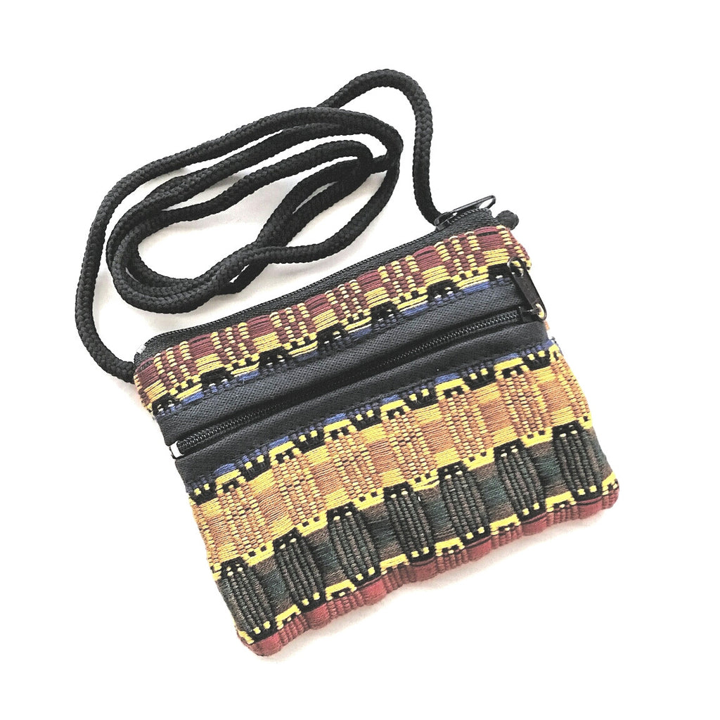 Multicolored Tribal Coin Purse Wallet