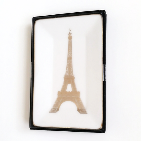 Paris Eiffel Tower Trinket Tray