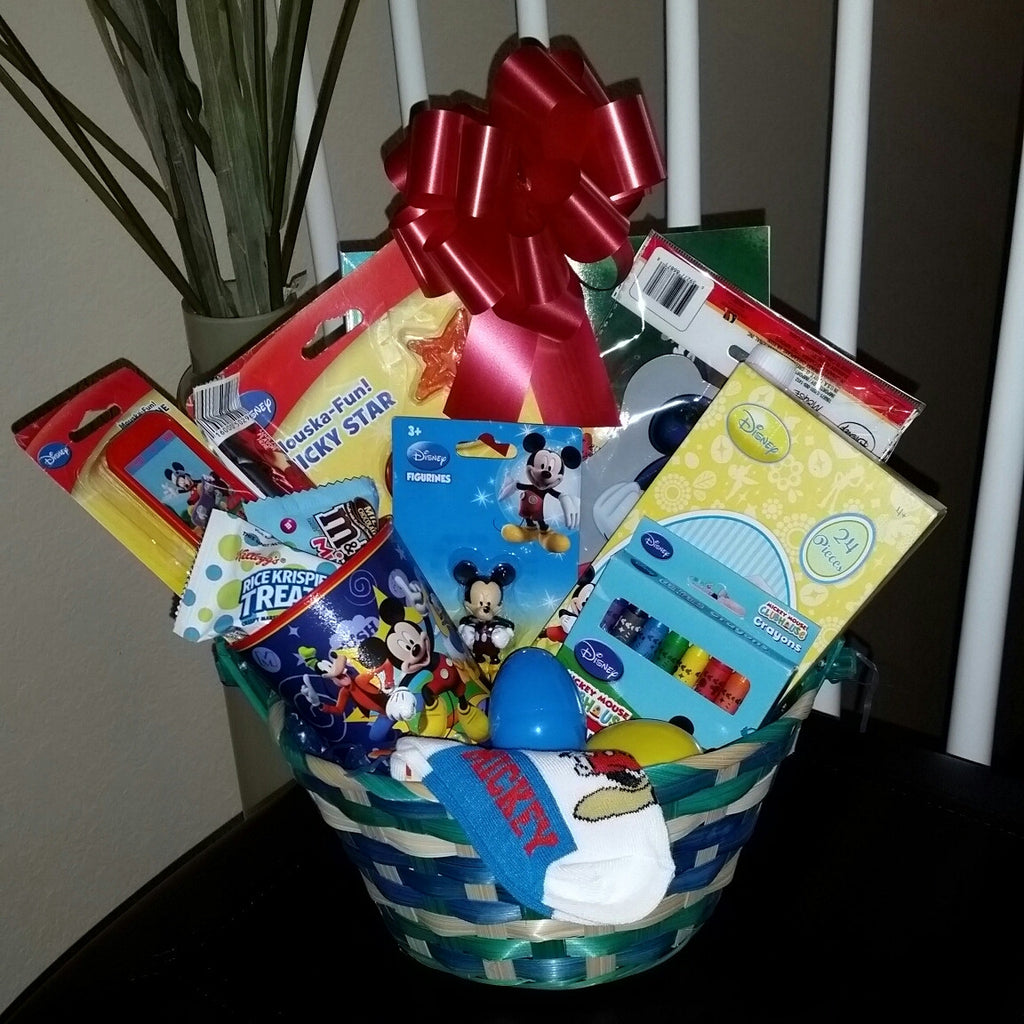 Mickey Mouse Easter Basket Gift