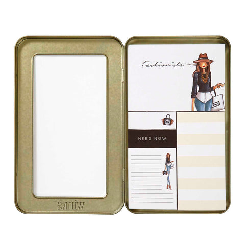 Fashionista sticky notes set