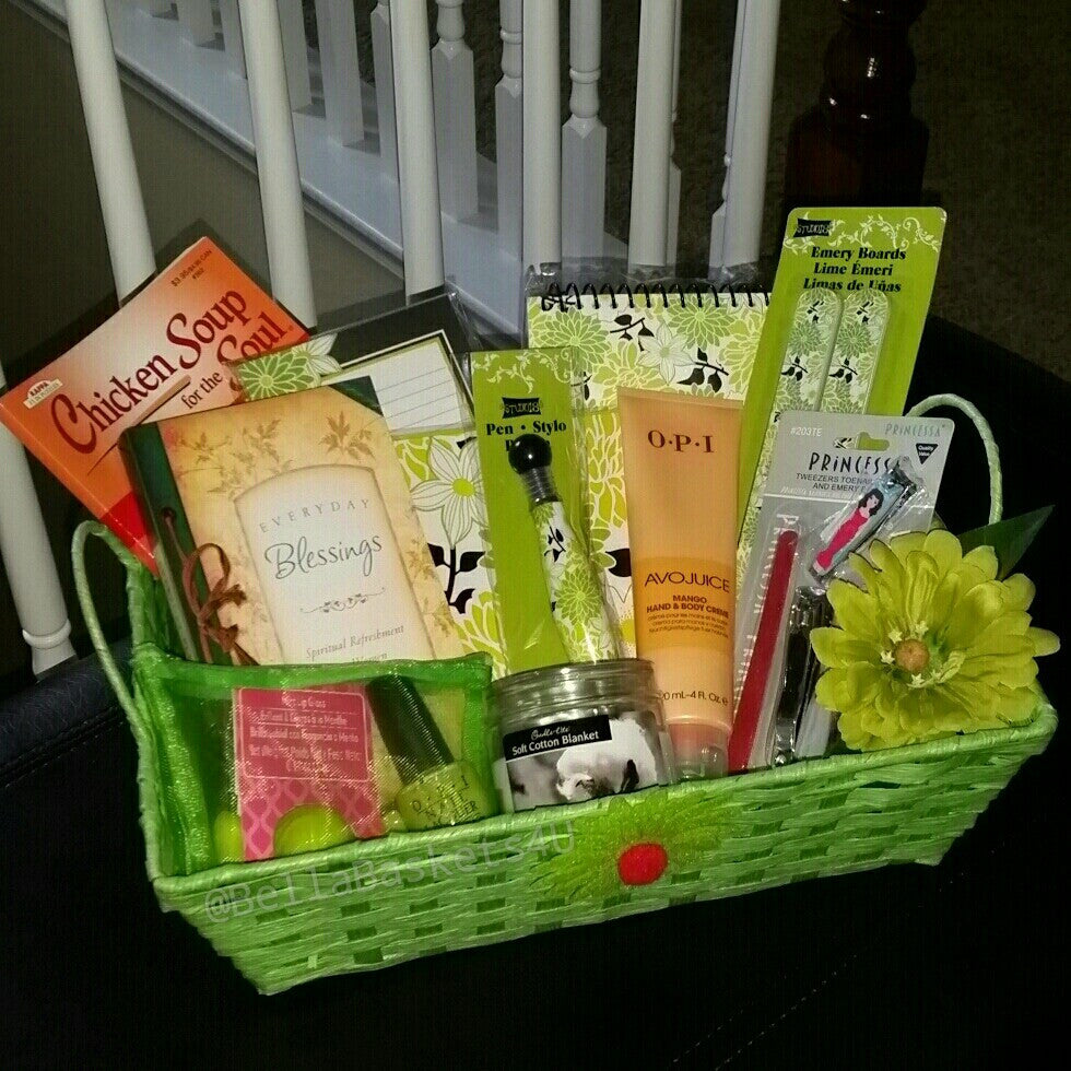 Spiritual Refreshment Gift Basket for Her