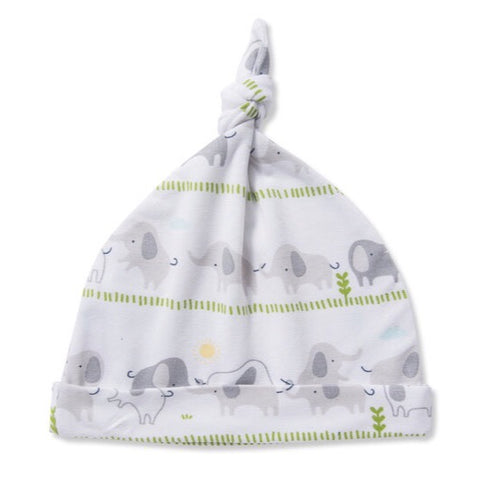 Bamboo Elephant infant beanie