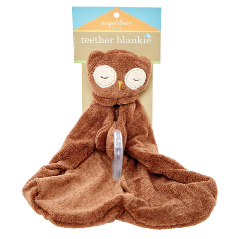 Owl Teether Blankie