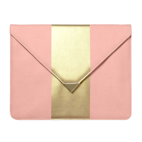 Blush Pink and Gold Document Folio Case