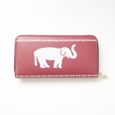 Crimson Elephant Tribal wallet