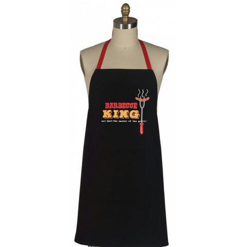 Barbecue King men's BBQ apron