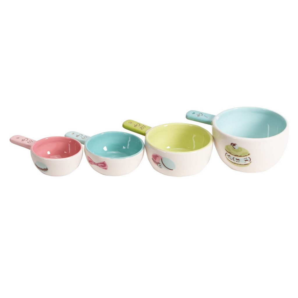 Macarons vintage inspired measuring cups