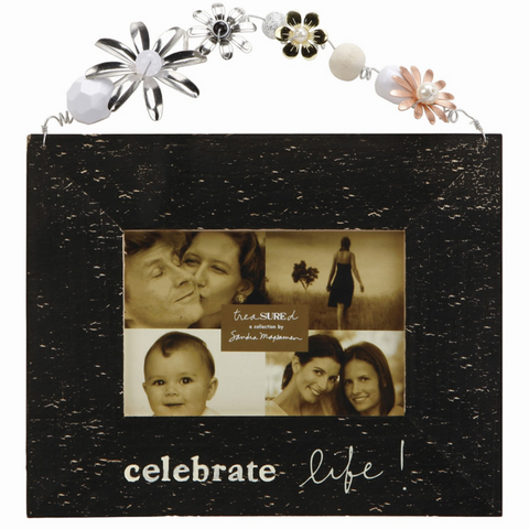 Celebrate Life picture frame decor