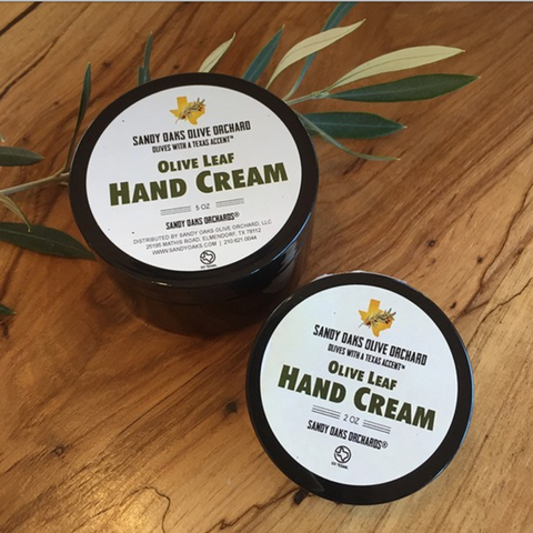 Sandy Oaks Natural Olive Leaf Hand Cream
