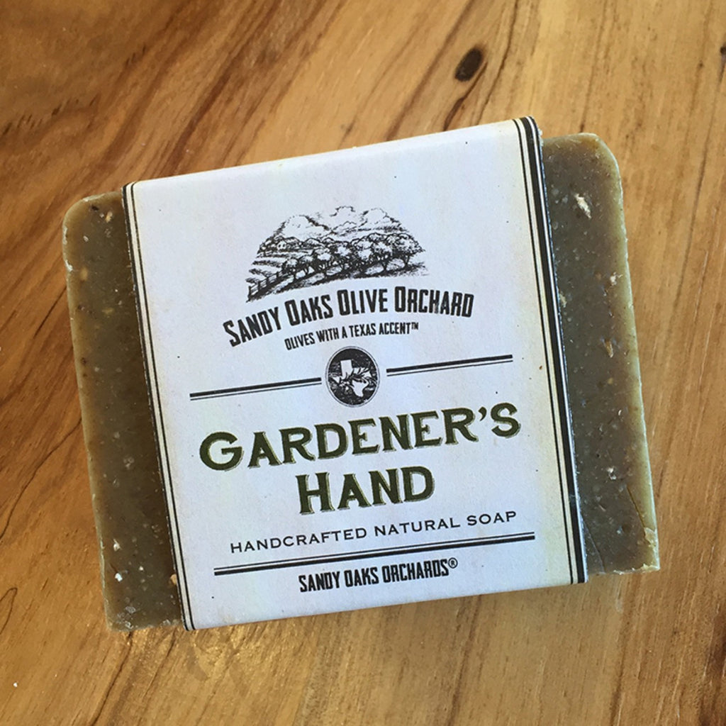 Sandy Oaks Gardener's Hand Natural Olive Leaf Soap