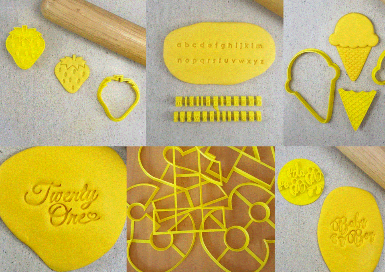 Cookie Cutters & Embossers