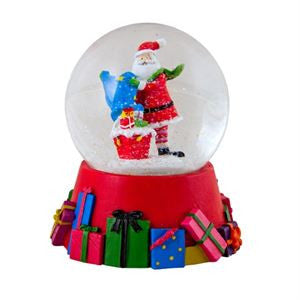 CHRISTMAS WATER GLOBES 45mm ASST