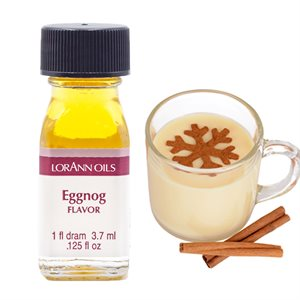 Lorann - Concentrated Flavour Oil - 3.7ml - Eggnog