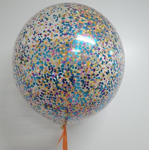 Confetti Balloon 3Ft/90Cm Customised