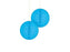 PAPER HONEYCOMB BALL 15CM 2PK BLUE