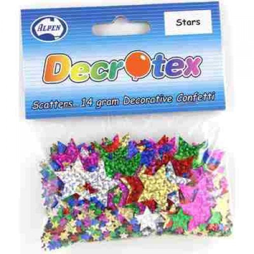 Scatters Stars Assorted Sizes