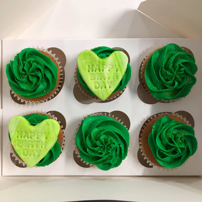 Personalised Cupcakes - Box of 6