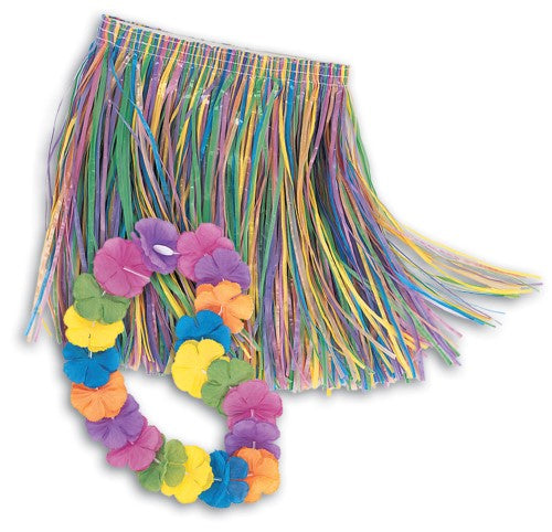 HULA SKIRT CHILD SET
