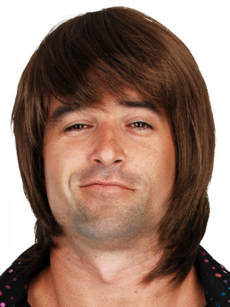Greg Shaggy Brown Wig