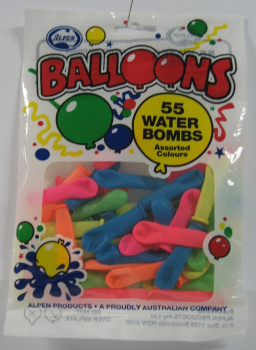 Water Bombs 55pk