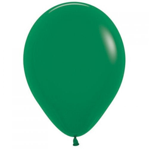 Decrotex 100 Pack Standard/Fashion Forest Green 30cm Balloon