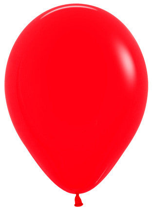 Decrotex 25 Pack Standard/Fashion Red 30cm Balloon