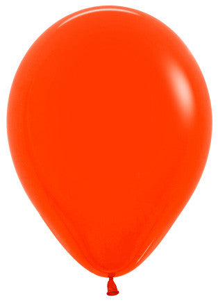 Standard/Fashion Orange 12Cm Balloon