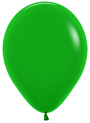 Decrotex 25 Pack Standard/Fashion Forest Green 30cm Balloon