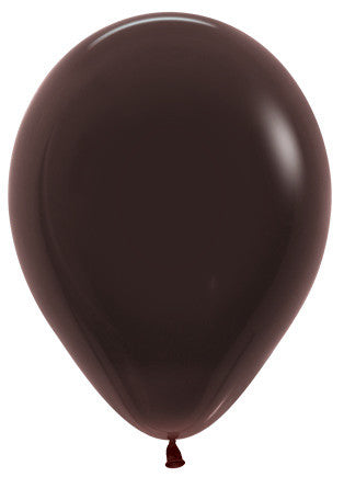Decrotex 25 Pack Standard/Fashion Chocolate/Gold 30cm Balloon
