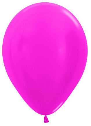 Decrotex 25 Pack Metallic Fuchsia 30cm Balloon