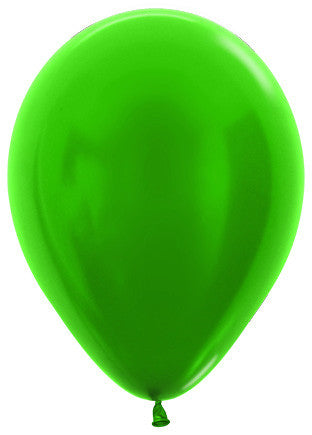 Decrotex 25 Pack Metallic Emerald Green 30cm Balloon