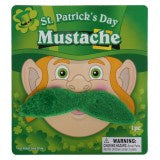 St Patricks Day Moustache