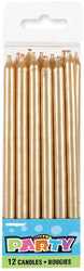 Long Candles 5'' - 12 Pack