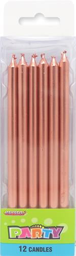 "LONG CANDLES 5"" - 12 PACK"