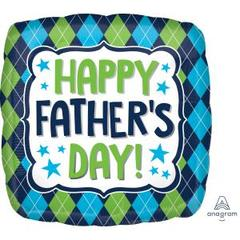Happy Fathers Day Foil 45cm