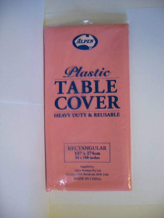 Rectangle Table Cover - Classic Pink