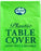Plastic Table Cover Round - Lime Green