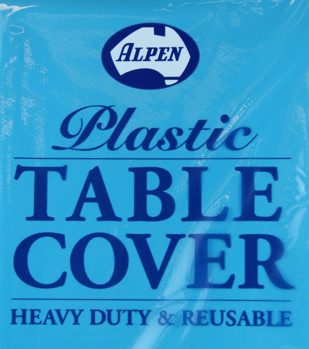 Table Cover Roll 30m - Azure Blue