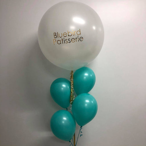 Personalised 3 foot balloon bouquet